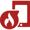Fire safety consultancy icon